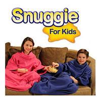 Детский плед одеяло с рукавами Snuggie Blanket for Kids Снагги детский