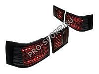 Задние фонари ВАЗ 2110, 2112 светодиодные, хром