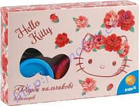 """Краски пальчиковые """"Kite"""" Hello Kitty 6 цветов"""