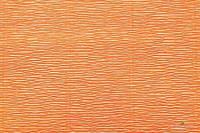 Гофрированная бумага (креп) Cartotecnica Rossi Orange Yellow № 581 Италия