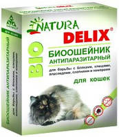 Natura Delix Bio биоошейник антипаразитарный  для кошек (Бионикс)