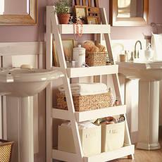 полки и этажерки для ванных комнат