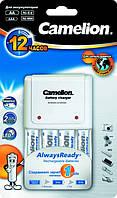 Зарядное устройство для аккумуляторов Camelion +2АА 2100мАч + 2AAA 800мАч (ВС-1010B-2H21/2H800AR)