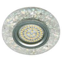 Встраиваемый светильник Feron 8585-2 белый, с LED подсветкой