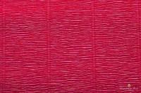 Гофрированная бумага (креп) Cartotecnica Rossi Cardinal Red № 584 Италия