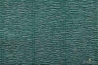 Гофрированная бумага (креп) Cartotecnica Rossi Dark Green № 560 Италия