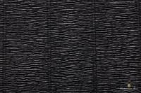 Гофрированная бумага (креп) Cartotecnica Rossi Black № 602 Италия