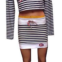 Юбка морячка 2 цвета, фото 1