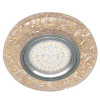 Встраиваемый светильник Feron 8585-2 желтый, с LED подсветкой