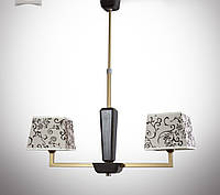 Люстра модерн на две лампы