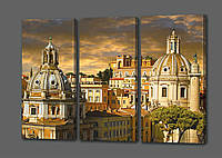 Модульная картина Весна в Италии.Рим 70*90 см Код: код 198.3k.79