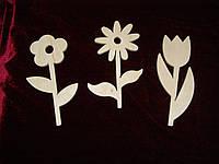 Цветочки набор из 3 шт.