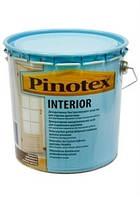 Лак для внутренних деревянных поверхностей Pinotex Interior, 10 л. Доставка НП бесплатно.
