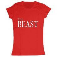 Женская футболка модная с принтом The Beast