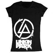 Женская футболка модная с принтом Linkin Park