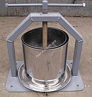 Пресс ручной для сока 15 л (нержавейка)