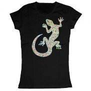 Женская футболка модная с принтом Salamander