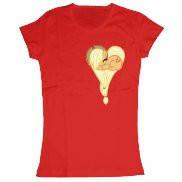 Женская футболка модная с принтом Applejack