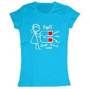 Женская футболка модная с принтом Our Store Love