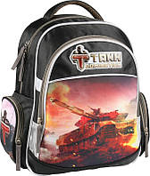 Рюкзак школьный ортопедический 510 Tanks для младших классов