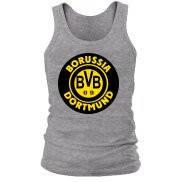 Майка мужская (борцовка) летняя с принтом Borussia Dortmund