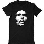 Мужская футболка модная с принтом Bob Marley Silhouette