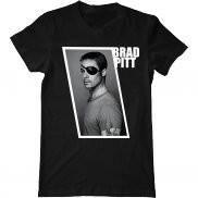 Мужская футболка модная с принтом Pitt