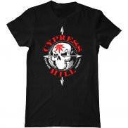 Мужская футболка модная с принтом Cypress Hill