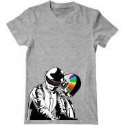 Мужская футболка модная с принтом Daft Punk Very Disco