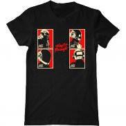 Мужская футболка модная с принтом Daft Punk 2013