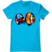 Мужская футболка модная с принтом Daft Punk Original