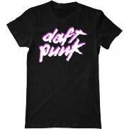 Мужская футболка модная с принтом Daft Punk