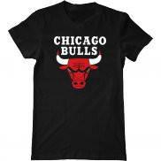 Мужская футболка модная с принтом Chicago Bulls