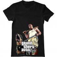 Мужская футболка модная с принтом Grand Theft Auto V