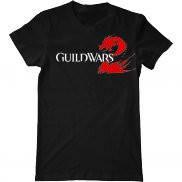 Мужская футболка модная с принтом GuildWars 2