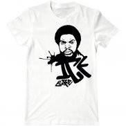 Мужская футболка модная с принтом Ice cube