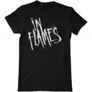 Мужская футболка модная с принтом In Flames