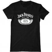 Мужская футболка модная с принтом Jack Daniels Old