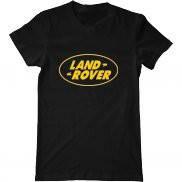 Мужская футболка летняя с принтом Ленд Ровер