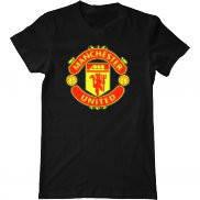Мужская футболка летняя с принтом Манчестер Юнайтед