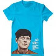 Мужская футболка летняя с принтом The Misfits