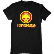 Мужская футболка летняя с принтом The Offspring