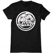 Мужская футболка с принтом Star Wars troopers