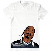 Мужская футболка с принтом Snoop Dog