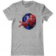 Мужская футболка с принтом Человек-паук