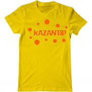 Мужская футболка с принтом Казантип Шары