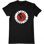 Мужская футболка с принтом Мы доверяем велосипедам