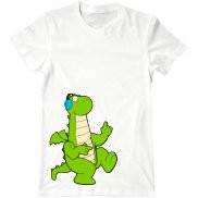 Мужская футболка с принтом Танец дракона
