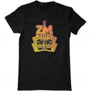 Мужская футболка с принтом ZM Nation