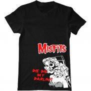Мужская футболка с принтом Misfits